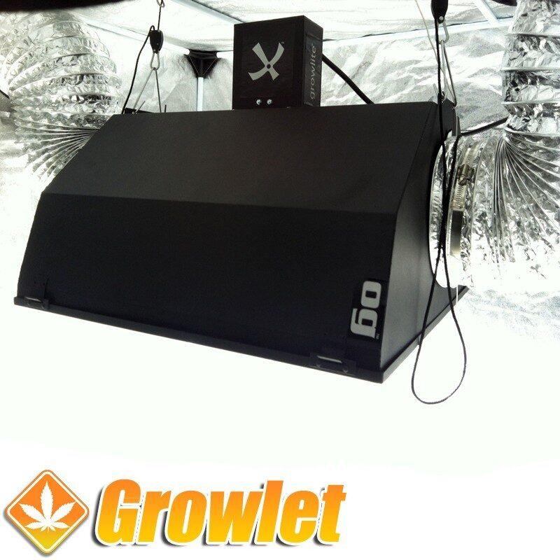 Growlite OG 200: Reflector de iluminación refrigerado