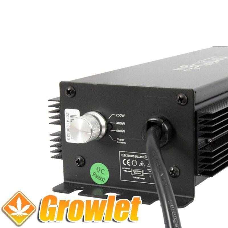 Hortilight digital: Balastro electrónico para bombilla de cultivo