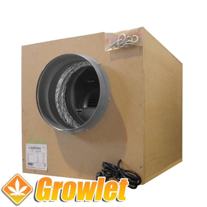 Extractor Isobox MDF (Boca 250 mm. / Caudal 1500 m3/h)