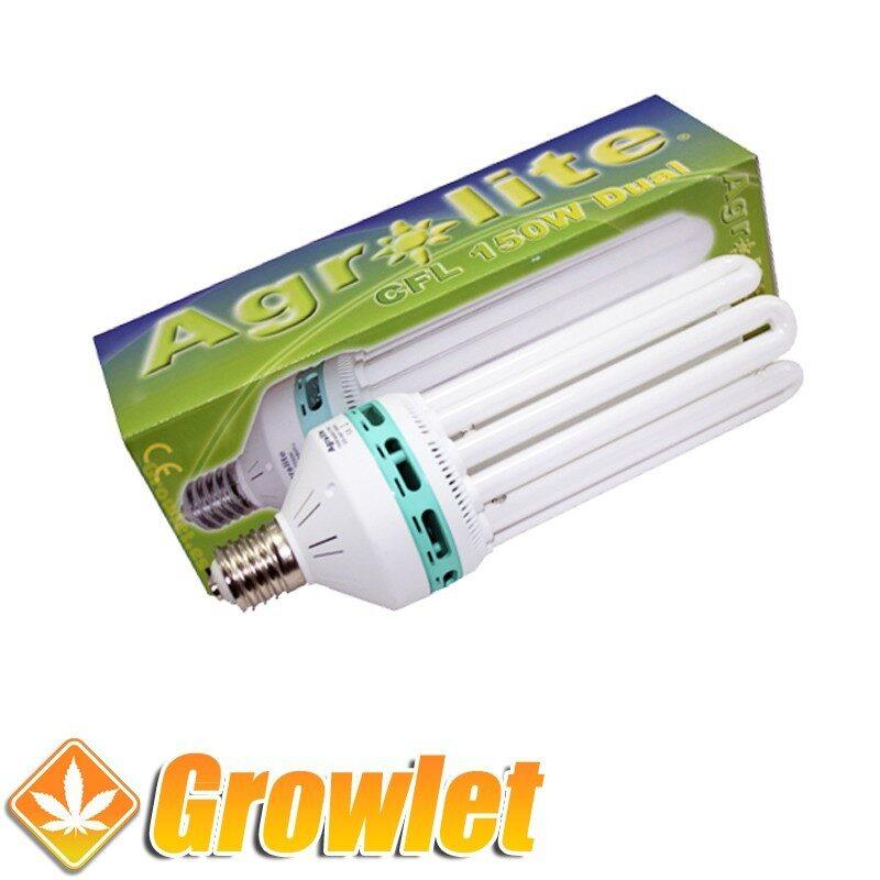 Vista frontal del CFL Agrolite 150 W