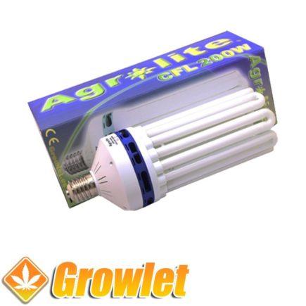 Vista frontal del CFL Agrolite 200 W