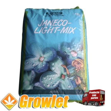 Janeco Light Mix: Tierra ligera con perlita
