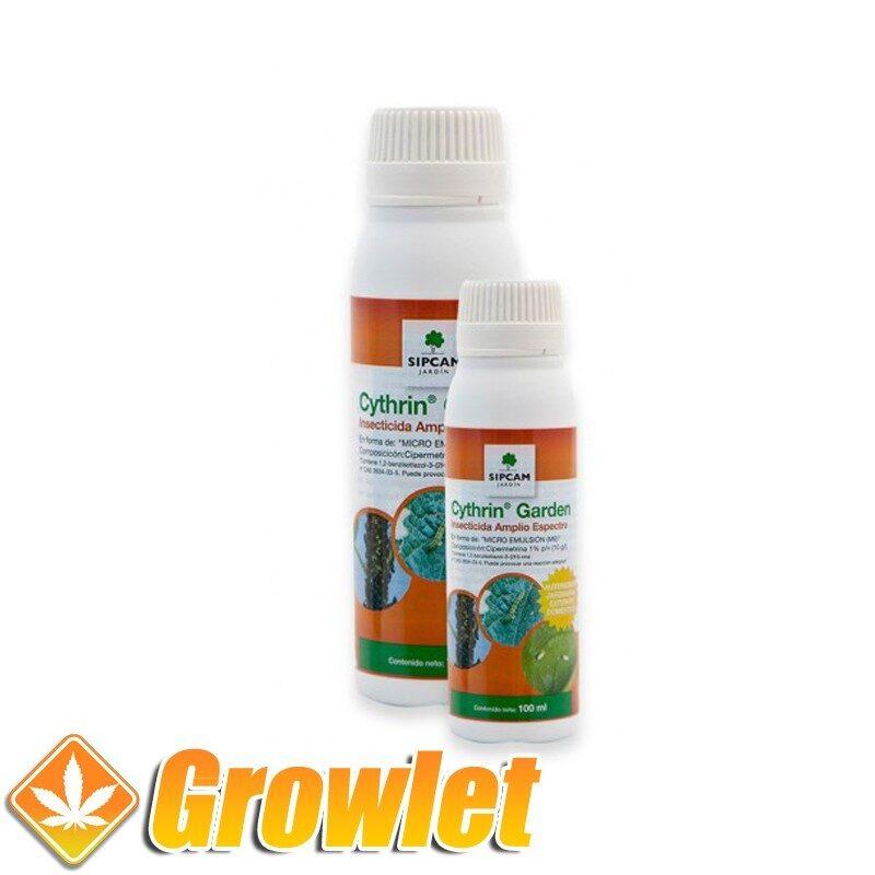 Cythrin Garden: Insecticida químico polivalente