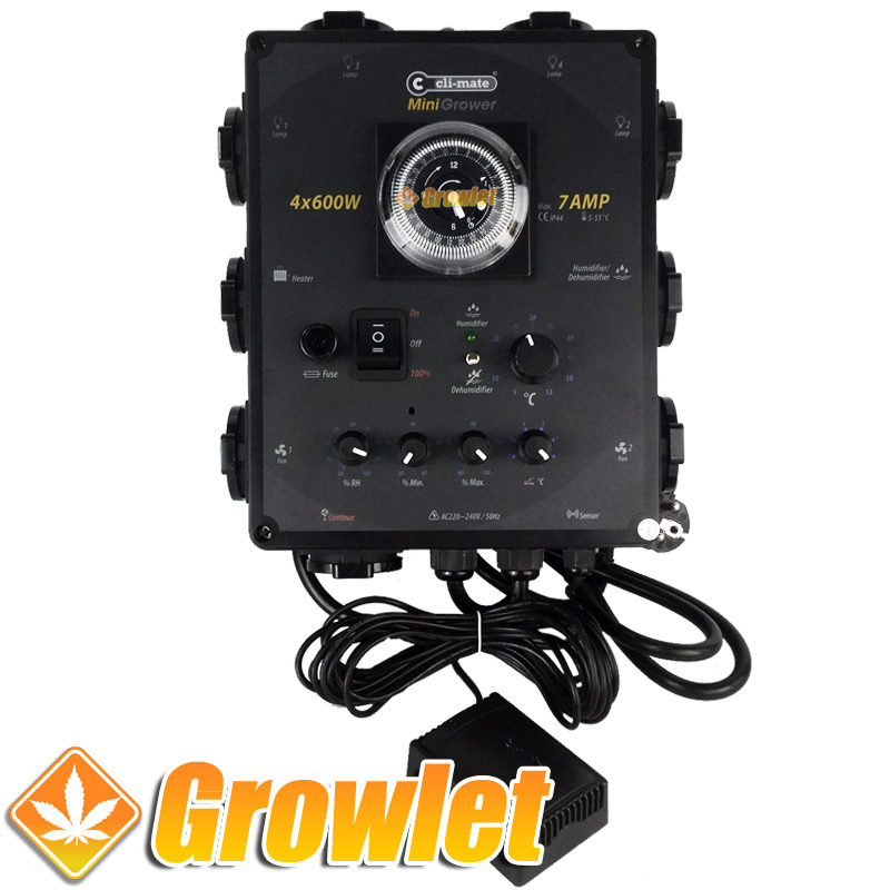 unidad de control del clima Mini Grower