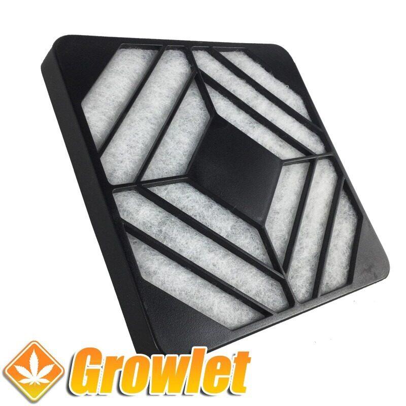 filtro de espuma para evitar el polvo en el ventilador