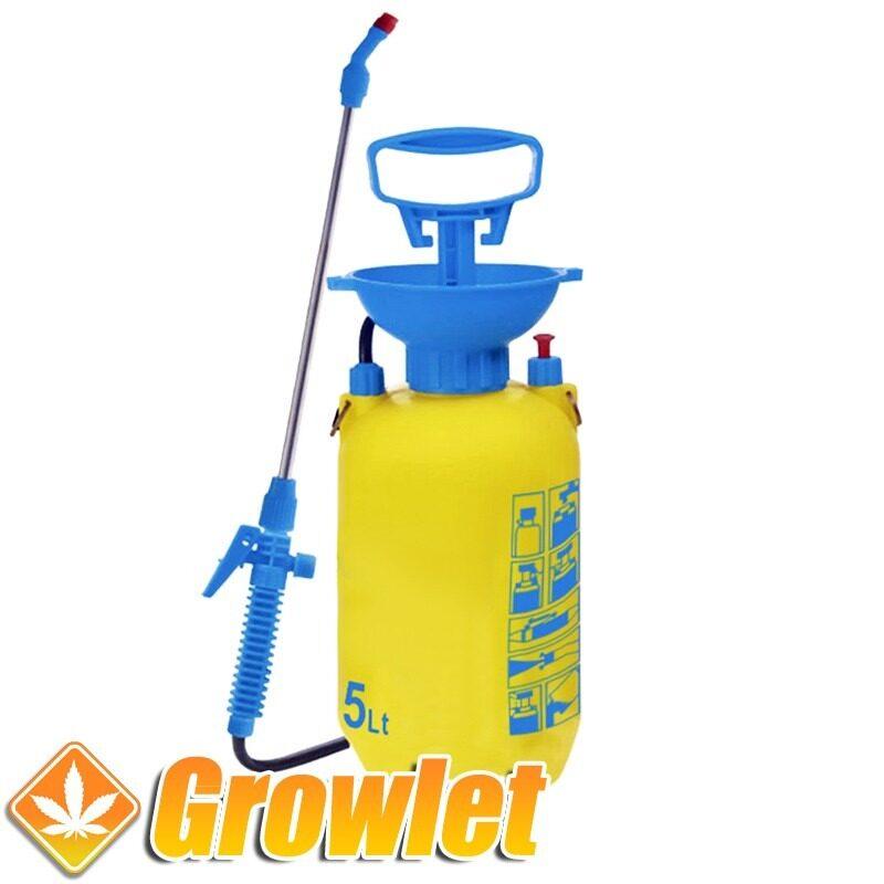 pulverizador con lanza aplicadora