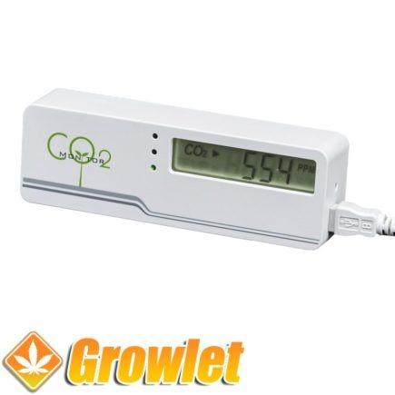 monitor de co2 para cultivo