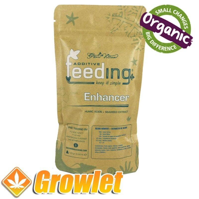 Vitalizador de plantas a base de ácidos húmicos y extracto de algasGreenhouse Enhancer