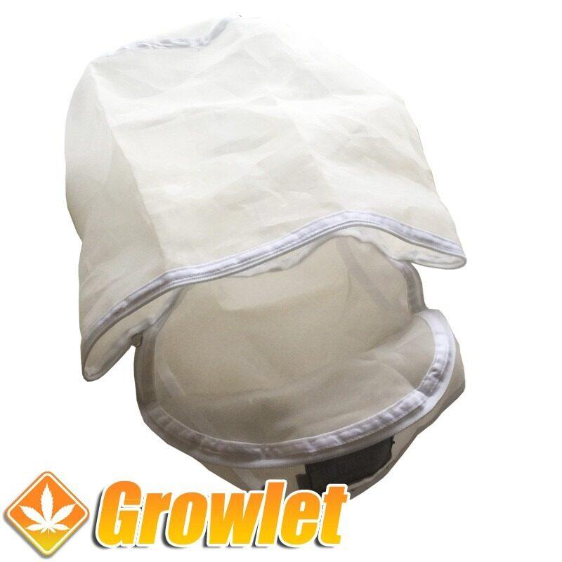 Bolsa lavadora Pure Extracts Bags abierta