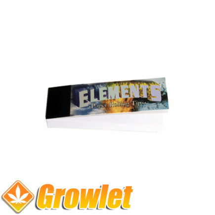 Filtros de cartón Elements para liar cigarrillos