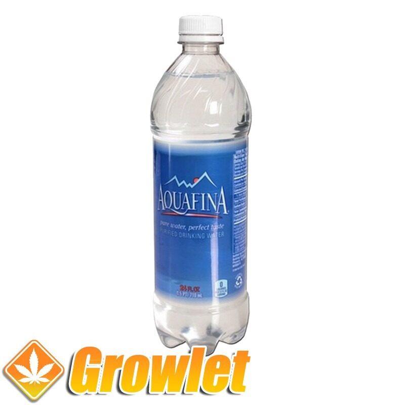 Botella de ocultación de agua con cierre