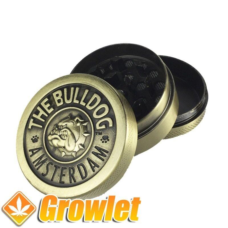 Grinder metálico Bulldog con polinizador