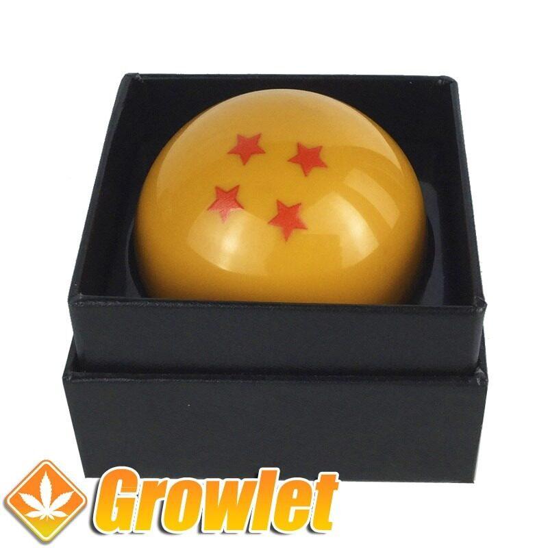 Grinder tamiz bola de dragón en caja