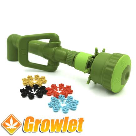 Gotero de FloraFlex para riego automático