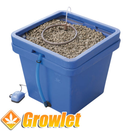 Sistema de cultivo hidropónico Aquafarm de GHE
