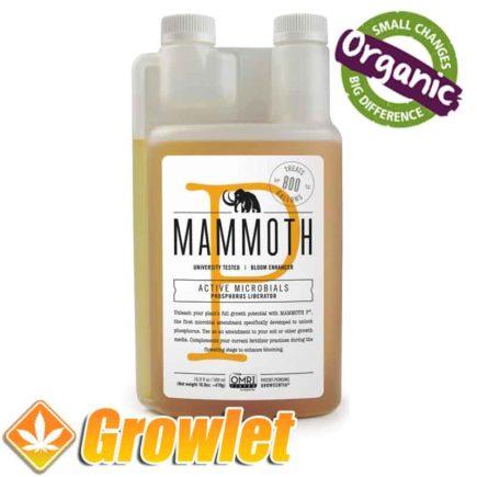 Potenciador de la floración Mammoth P de Growcentia