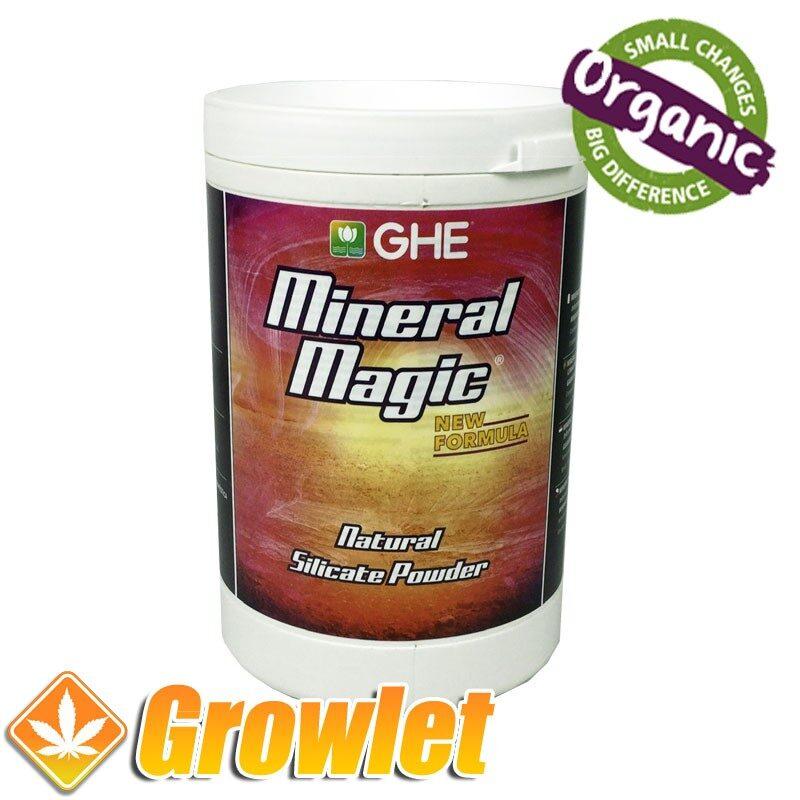 Polvo de silicato Mineral Magic