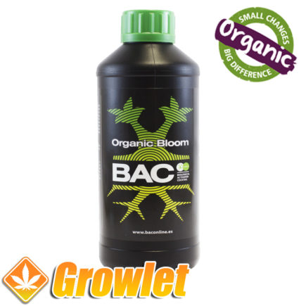 BAC Organic Bloom fertilizante de floración