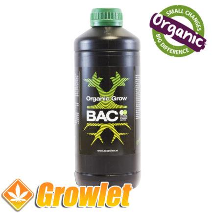 BAC Organic Grow abono de crecimiento orgánico