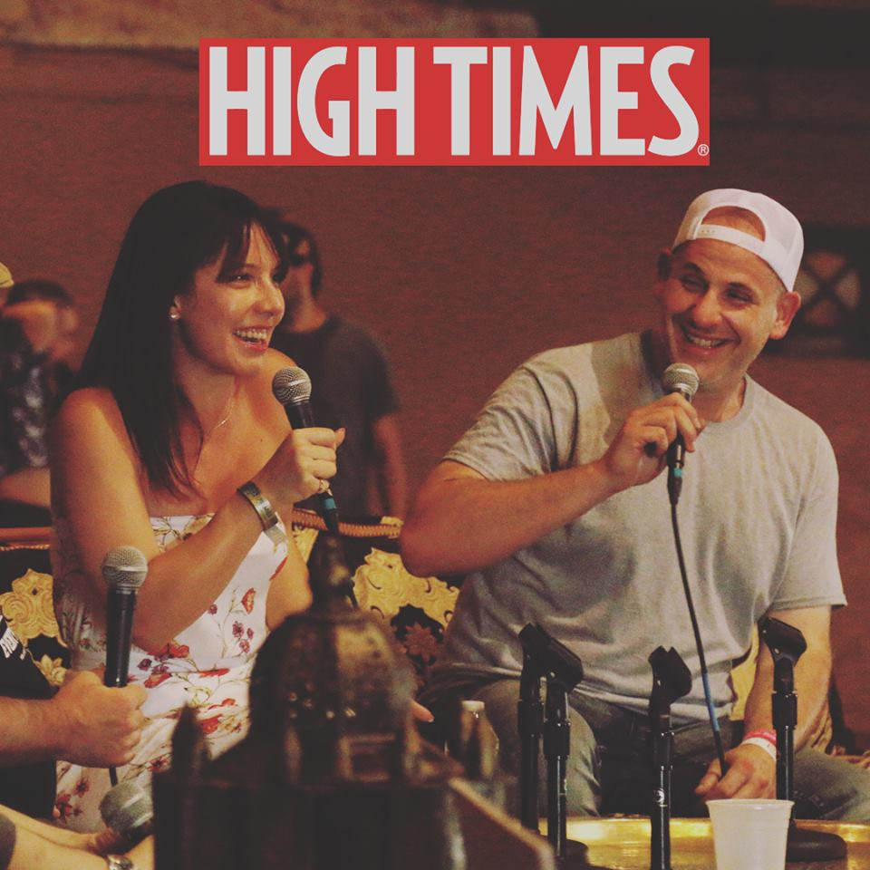 Colin Gordon de Ethos Genetics en la revista High Times