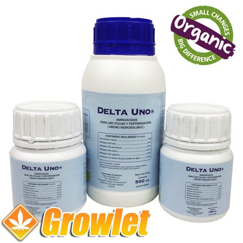 Estimulador de las raíces orgánico Delta Uno de Cannabiogen