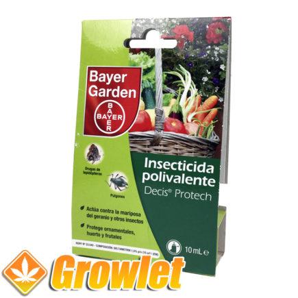 Insecticida químico Decis de Bayer de amplio espectro