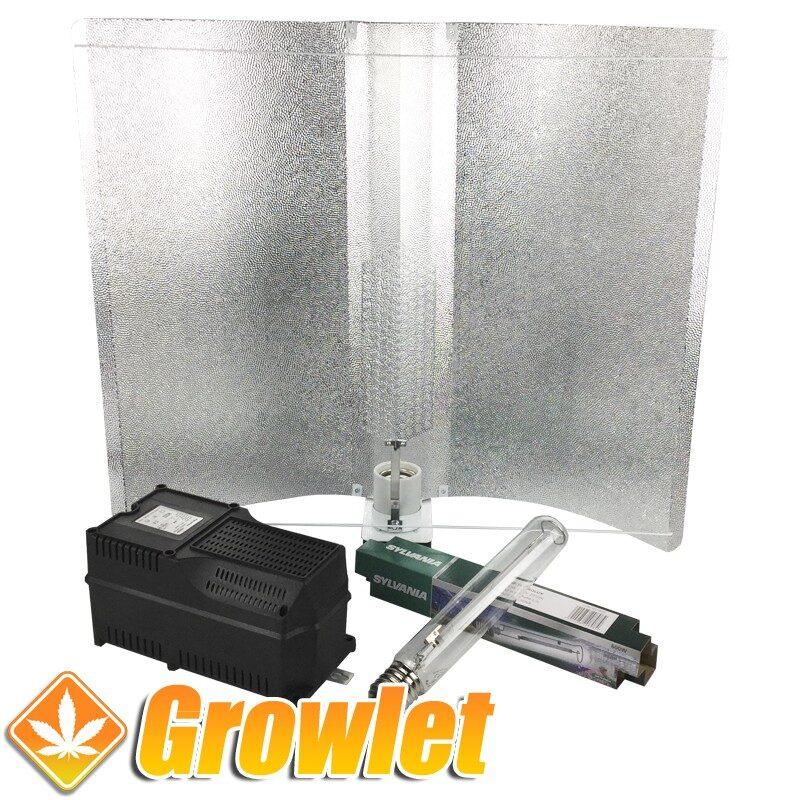 Kit de iluminación de cultivo interior Alas de Gaviota