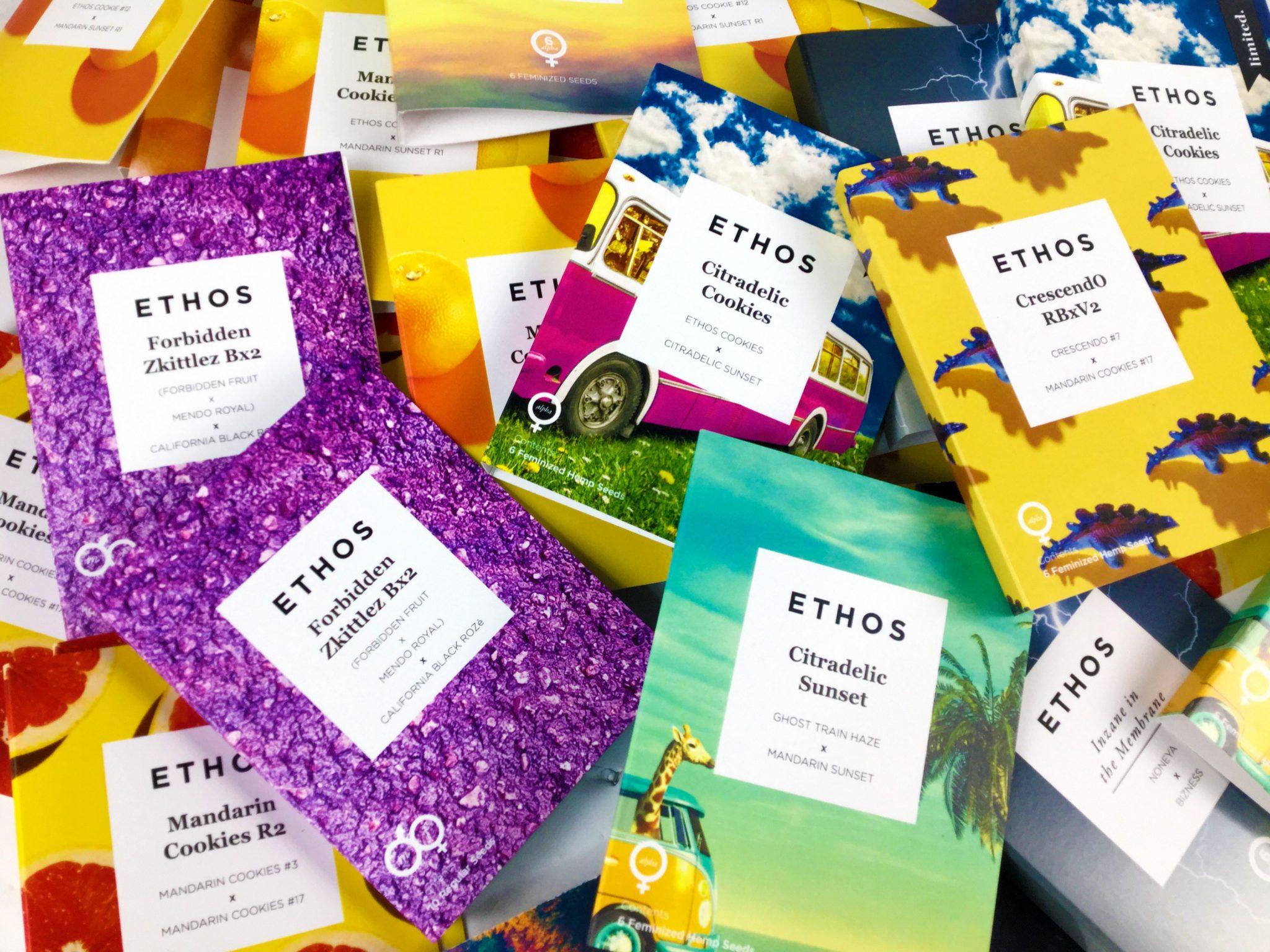 Paquetes de semillas de Ethos Genetics