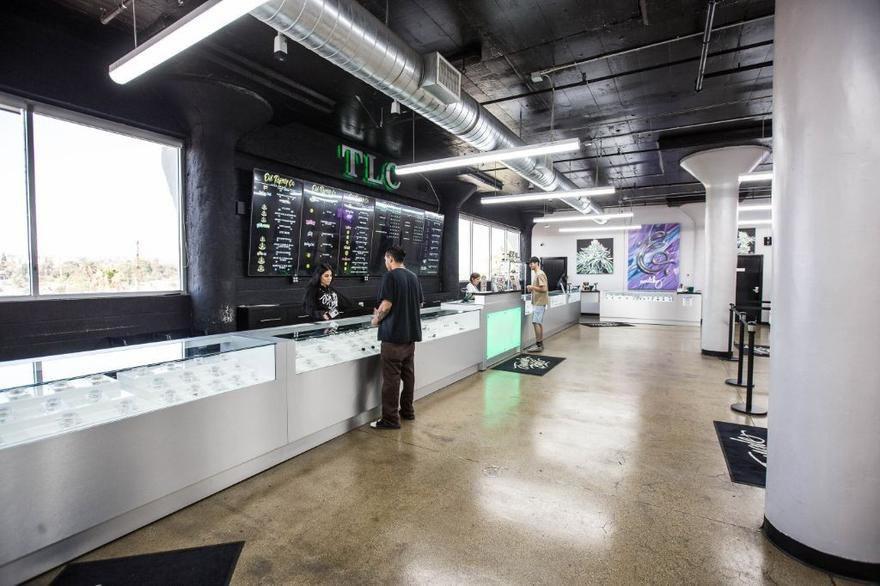 Dispensario en Los Angeles TLC Collective