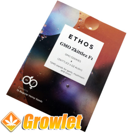 Cannabis seeds GMO Zkittlez by Ethos