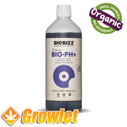 Biobizz pH más orgánico para subir la acidez del agua de riego