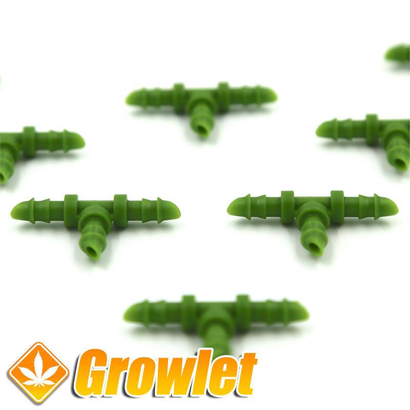 Floraflex Barbed T - Conexión manguera de riego