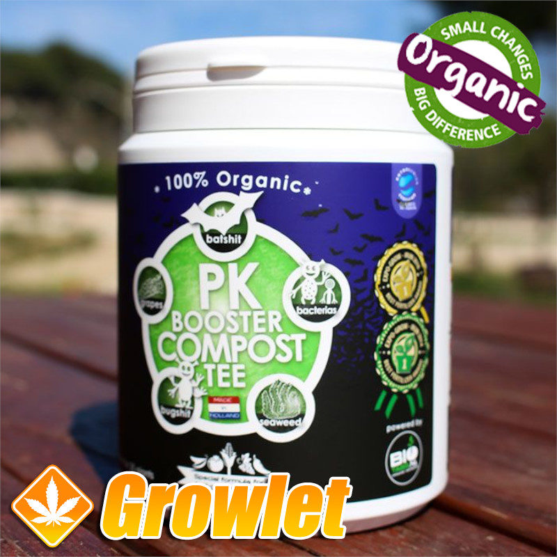 PK Booster Compost Tee de BioTabs Potenciador de floración
