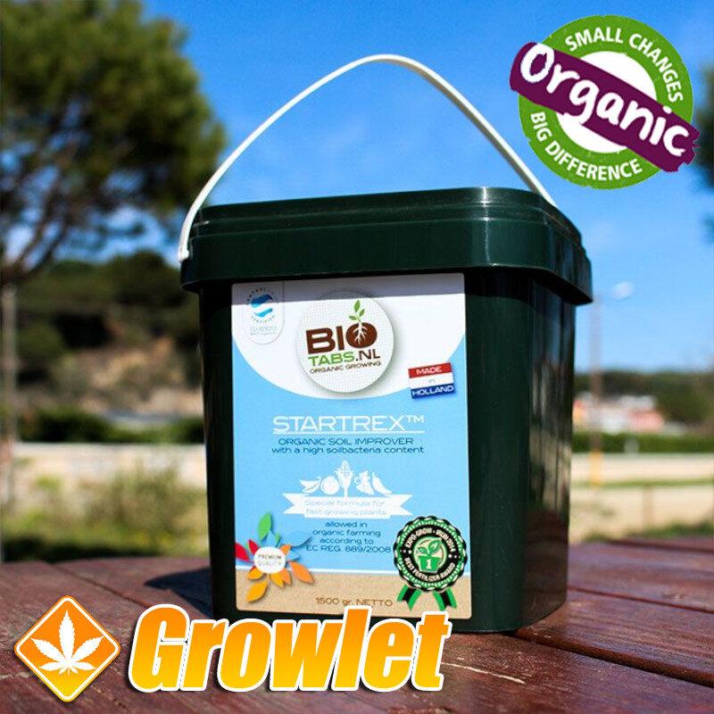 Startrex de BioTabs Acondicionador de sustratos orgánico