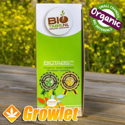 Tabletas fertilizantes de liberación lenta de BioTabs