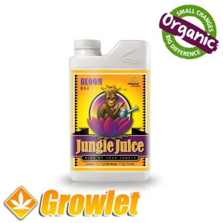 Jungle Juice Bloom de Advanced Nutrients: Abono de floración para cultivo hidropónico