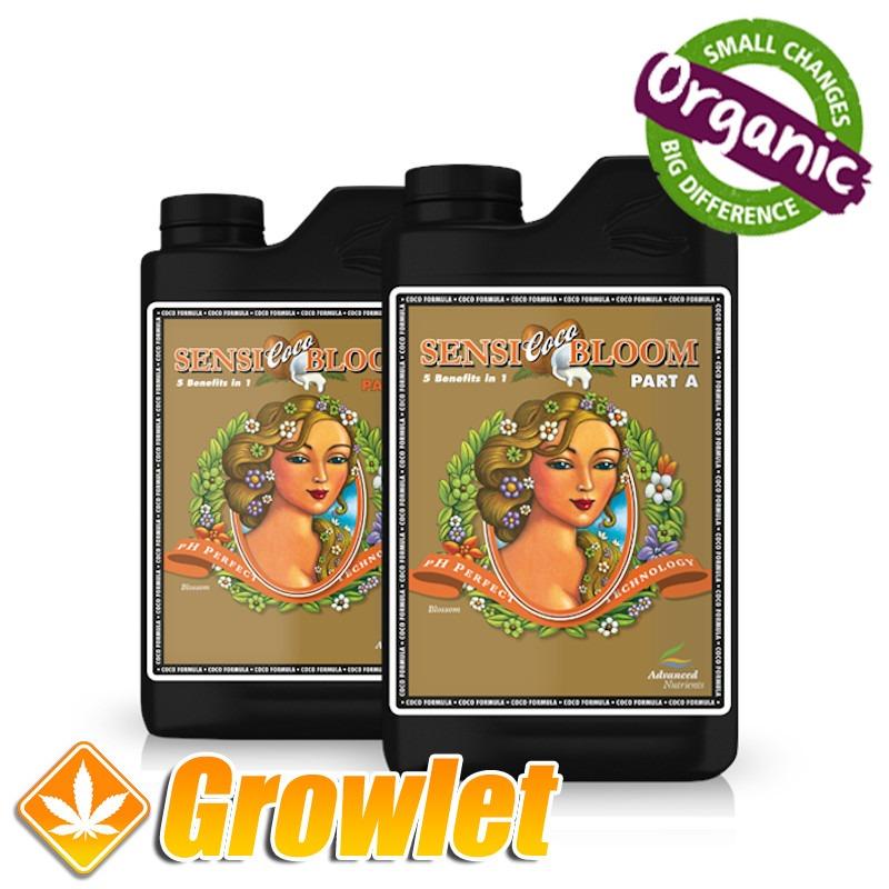 Sensi Bloom Coco A+B de Advanced Nutrients
