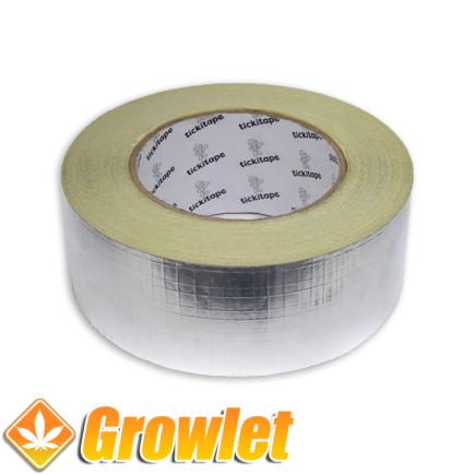 Cinta reforzada de aluminio para conductos