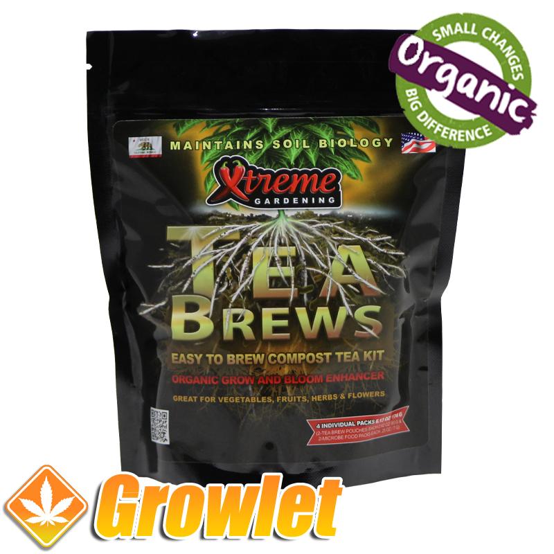 Tea Brew de Xtreme Gardening