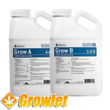 Athena Grow A+B Blended