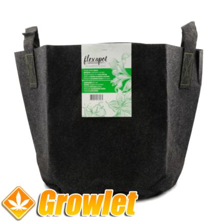 Maceta Flexapot textil para cultivo interior y exterior