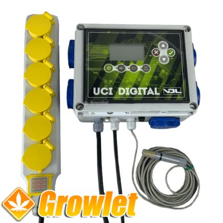 Controlador UCI VDL: Control del clima e iluminación