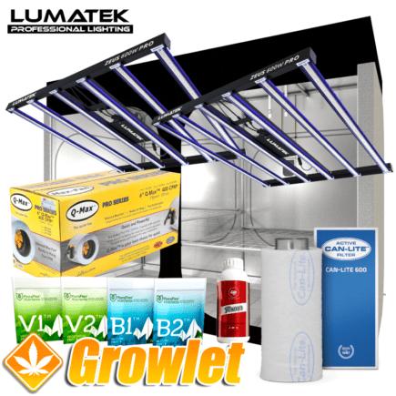 Lumatek LED PRO: Kit de cultivo en armario con iluminación LED