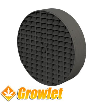 Light Baffle filtro con malla para la intracción de armarios Secret Jardin