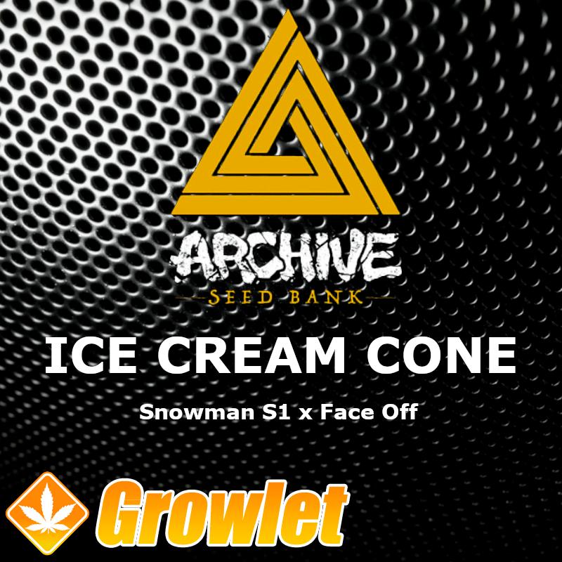 Ice Cream Cone semillas regulares de cannabis