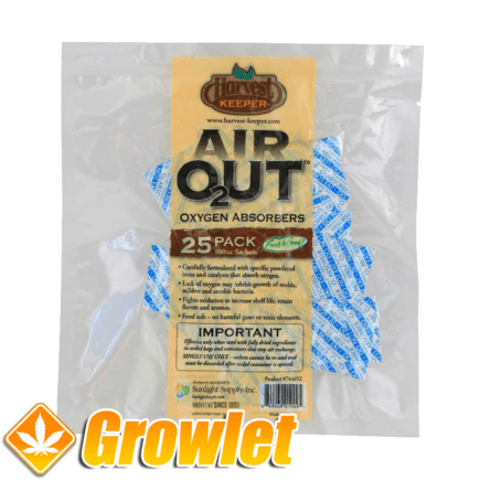 Air Out Oxygen Absorber de Harvest Keeper
