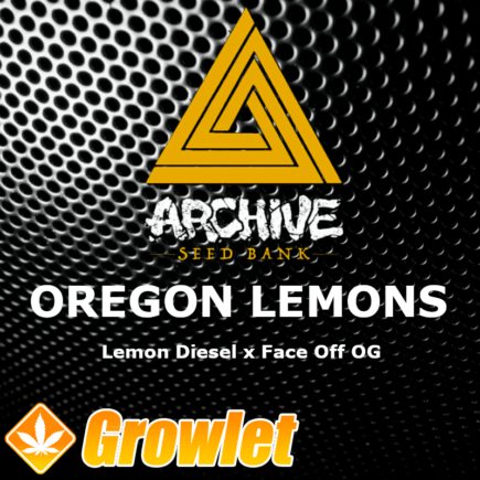 Oregon Lemons semillas regulares de cannabis