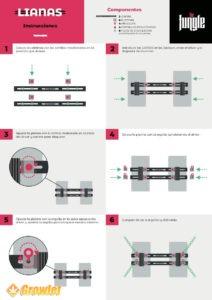 Instrucciones de montaje Lianas 2 equipos