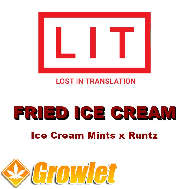 Fried Ice Cream semillas feminizadas de cannabis